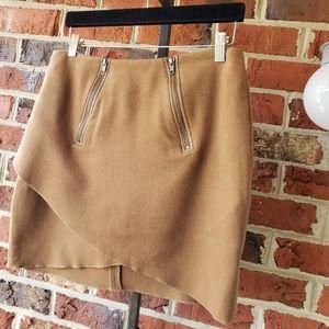 2b. RYCH Asymmetric Wool Skirt